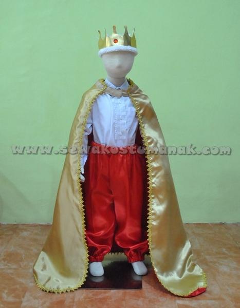 Kostum Raja Anak