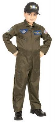 Boys fighter pilot  large