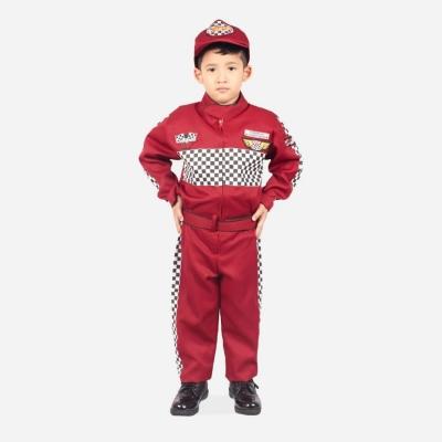 Kostum pembalap Anak 2  large
