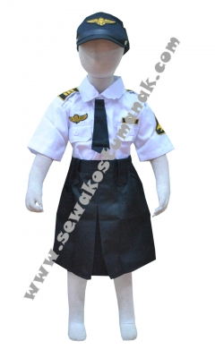 Kostum pilot wanita  large