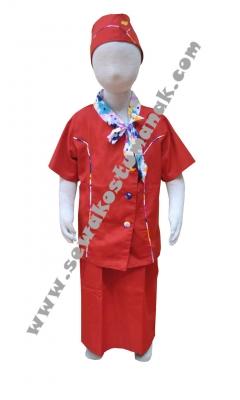 Kostum pramugari merah2  large