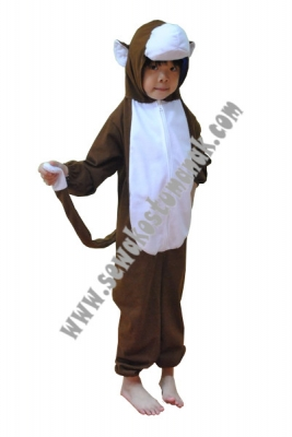 Kostum binatang monyet  large