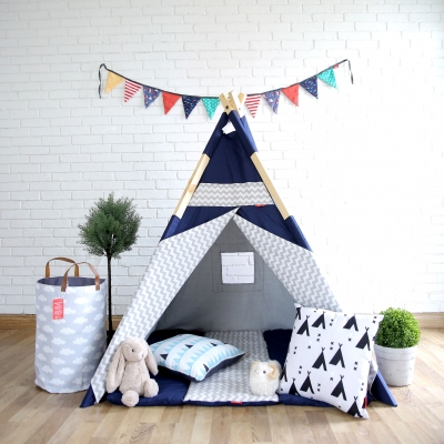 TPT 008 Teepee Jet Blue  large