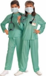 Kostum Profesi Dokter Bedah - Import