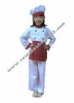 Kostum Profesi Koki - Merah