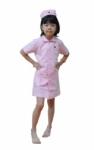 Kostum Profesi Suster - Pink