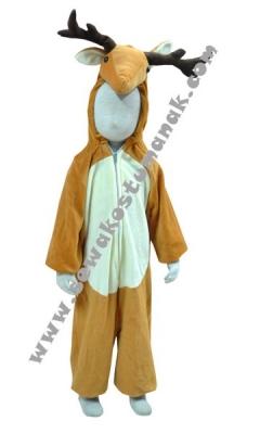 d kostum binatang rusa  large