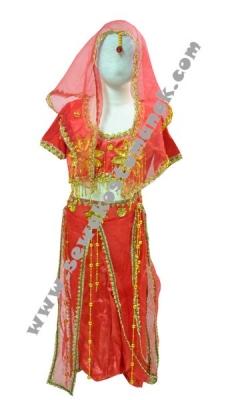 d kostum india belly dance  large