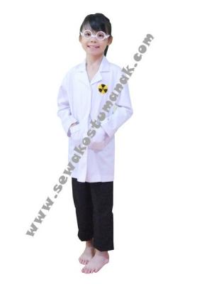 d kostum profesi ilmuwan  large