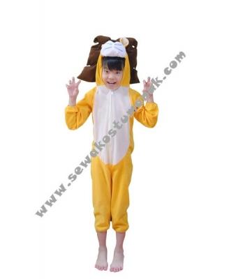 kostum animal singa  large