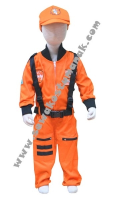 kostum astronot anak  large