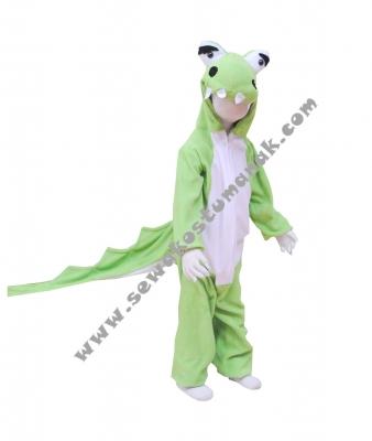 kostum binatang buaya  large