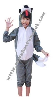 kostum binatang srigala  large