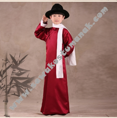 kostum cina anak  large