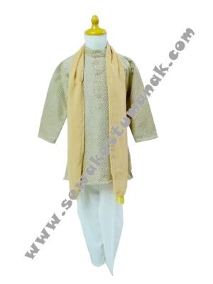 kostum india laki laki kuning  large