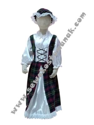 kostum irlandia girl  large