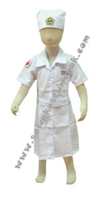 kostum perawat anak  large