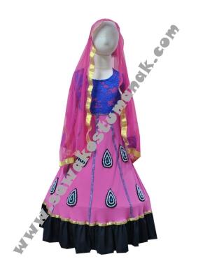 kostum sari india  large