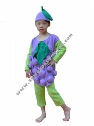 kostum buah anggur  large