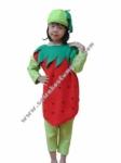 Kostum Buah Strawberry
