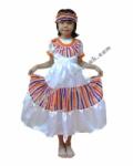 Kostum Negara Mexico - Girl