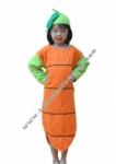 Kostum Sayur Wortel