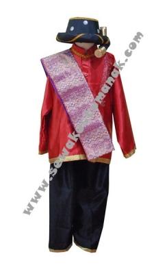 pakaian adat  batak  boy merah  large