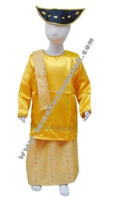 pakaian adat batak kuning  large