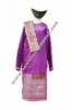 pakaian adat batak ungu  medium