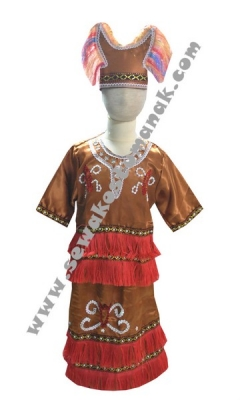 pakaian adat suku papua  large