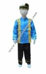 Pakaian Adat Aceh - Biru Girl